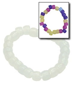 1000 Color Changing UV Beaded Bracelets - Wholesale Vending Products