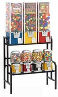 7 Rack Setup Bulk Vending Machines - Ships Free! - Wholesale Vending Products