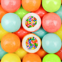 "900 Count Zed Cupcake Sprinkle Gumballs 1"" - Wholesale Vending Products"