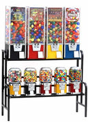 9 Rack Setup Bulk Vending Machines - Ships Free!
