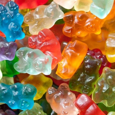 5 Lbs Albanese 12 Flavor Gummi Bears - Wholesale Vending Products