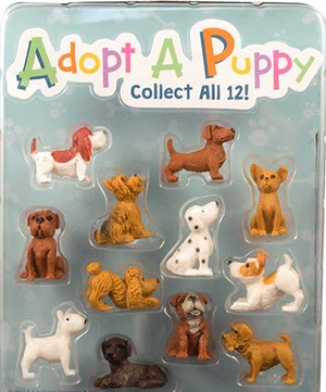 "250 Adopt A Puppy Figures - 1"" - Wholesale Vending Products"