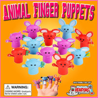 "250 Animal Finger Puppets In 2"" Capsules - Wholesale Vending Products"