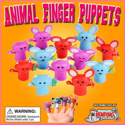 250 Animal Finger Puppets In 2