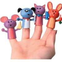 12 Animal Finger Puppets - Wholesale Vending Products