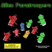 "250 Alien Paratroopers in 2"" Capsules - Wholesale Vending Products"