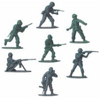 144 Plastic Toy Army Soldiers - Wholesale Vending Products