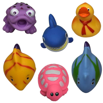 12 Assorted Animal Squirt Toys - Wholesale Vending Products