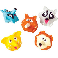 12 Animal Spin Tops - Wholesale Vending Products