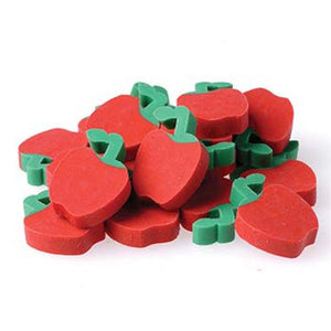 144 Mini Apple Erasers - Wholesale Vending Products