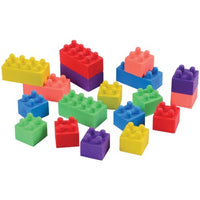18 - Block Mania Erasers - Wholesale Vending Products