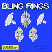 "250 Bling Rings in 2"" Capsules - Wholesale Vending Products"