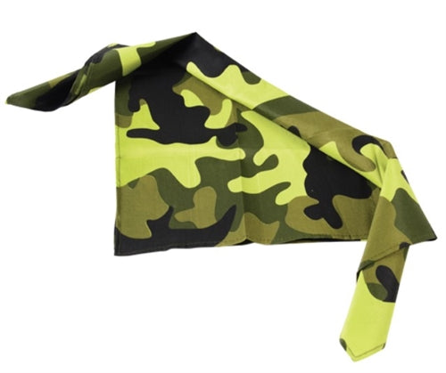 12 Camouflauge Bandanas - Wholesale Vending Products