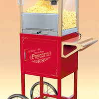 "Old Fashioned Movie Time 53"" Popcorn Cart - Wholesale Vending Products"