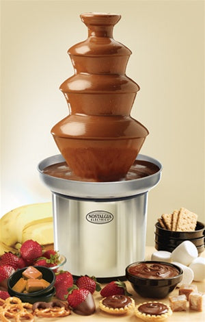 3-Tier Chocolate Fondue Fountain - Wholesale Vending Products