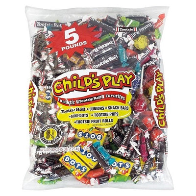 5 Lbs Tootsie Roll Child's Play