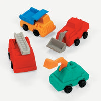12 Construction Truck Erasers - Wholesale Vending Products