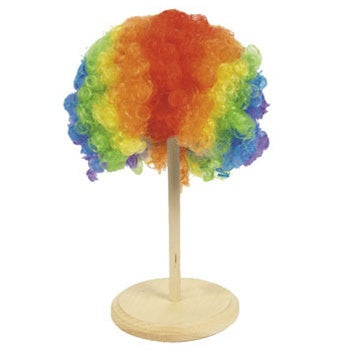 Rainbow Clown Wig - Wholesale Vending Products