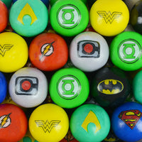 "900 Count Zed DC Comics Gumballs 1"" - Wholesale Vending Products"