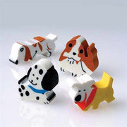 12 Dog Erasers - Wholesale Vending Products