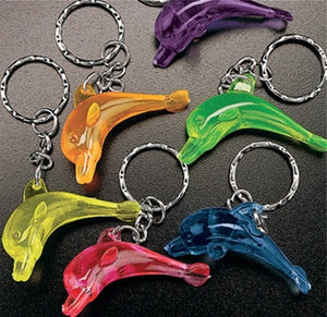 48 Dolphin Key Chains - Wholesale Vending Products