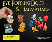 "250 Dog Poppers and Dalmatians - 2"" - Wholesale Vending Products"