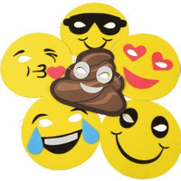 12 Emojo Foam Masks - Wholesale Vending Products