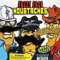 "250 Fuzzy Face Mustaches In Capsules 2"" - Wholesale Vending Products"