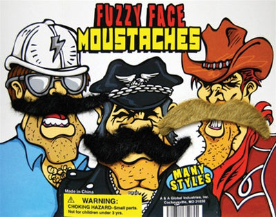 250 Fuzzy Face Mustaches In Capsules 2
