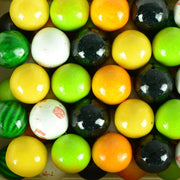 900 Count Zed Fruity Medley Gumballs 1""