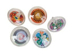 12 Fun Spinning Tops - Wholesale Vending Products