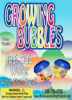 250 Growing Bubbles - 1