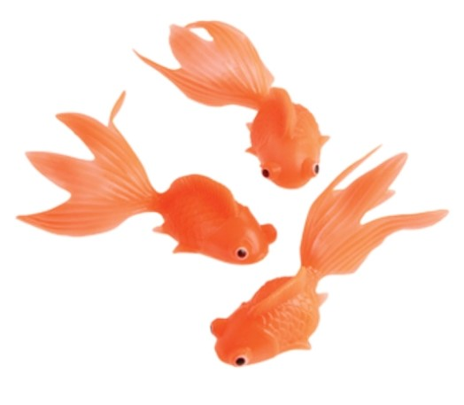 12 - Soft Floating Goldfish - Wholesale Vending Products
