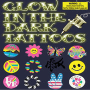 "250 Glow In The Dark Tattoos - 2"" - Wholesale Vending Products"
