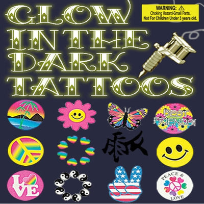 250 Glow In The Dark Tattoos - 2