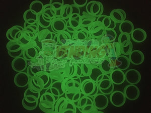144 Glow In The Dark Plastic Rings - Wholesale Vending Products