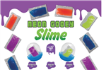 "250 Gooey Neon Slime - 2"" - Wholesale Vending Products"