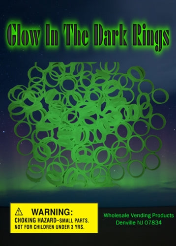 "250 Glow Rings - 1"" - Wholesale Vending Products"