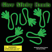 "250 Glow Sticky Hands - 2"" - Wholesale Vending Products"