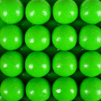 900 Count Zed Green Apple Gumballs 1""