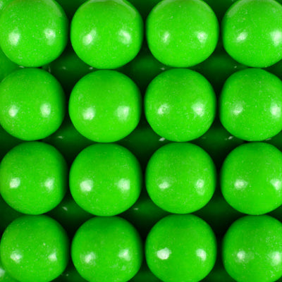 900 Count Zed Green Apple Gumballs 1