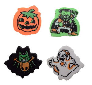 144 Halloween Erasers - Wholesale Vending Products