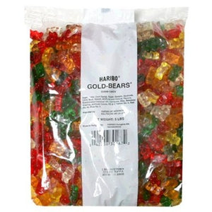 3 Lbs Haribo Gummi Candy Gold-Bears - Wholesale Vending Products