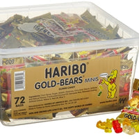 Haribo Gold-Bears Minis Packs, 72-Count - Wholesale Vending Products