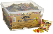 Haribo Gold-Bears Minis Packs, 72-Count