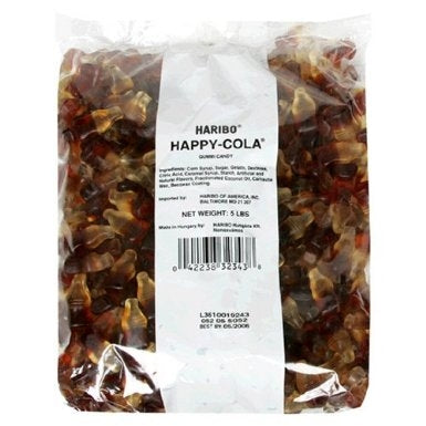 Haribo Gummi Candy, Happy-Cola