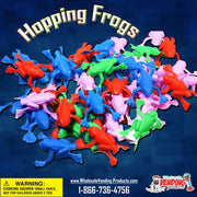 "250 Hopping Frogs In 2"" Capsules GREAT SELLER! - Wholesale Vending Products"