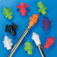 144 Halloween Pencil Toppers - Wholesale Vending Products