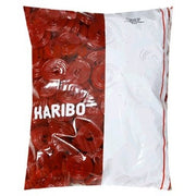 5 Lbs Haribo Strawberry Licorice Wheels - Wholesale Vending Products