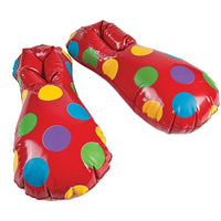 Inflatable Clown Shoes - Wholesale Vending Products
